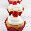 Royalty-Free Stock Photo: Valentine\'s Day Cupcakes