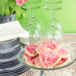 Valentine's Day Cookies - Stock Photo