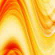 Royalty-Free Stock Photo: Abstract wavy background in yellow, orange and red tones