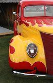 Closeup su auto d'epoca — Foto Stock