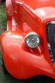 Close-up op vintage auto — Stockfoto