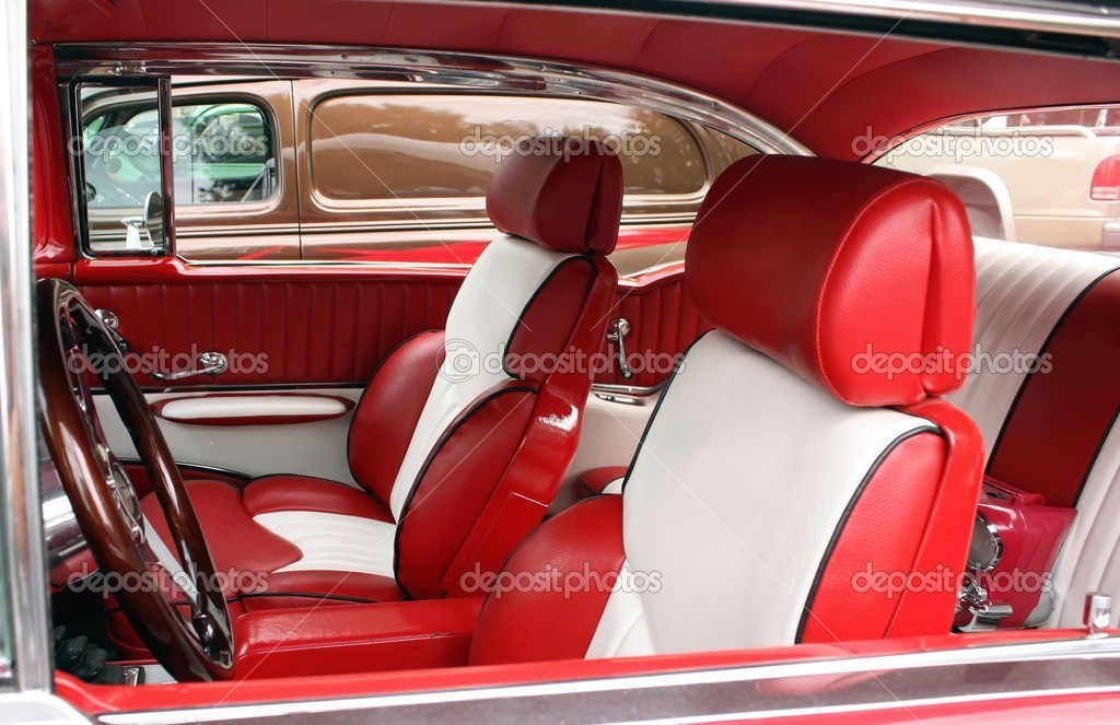 white leather car seat stock photo ziggysofi 4535609. Black Bedroom Furniture Sets. Home Design Ideas