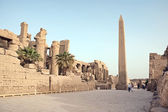 Obelisk in Karnak — Stock Photo