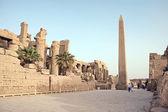 Obelisk in Karnak — Stock Photo