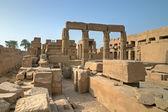 Old ruins in Karnak temple — Stock Photo