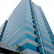 A Highrise Office Building made of Concrete and Glass - Foto Stock