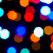 Stock Photo: Christmas Lights Out of Focus Background Abstract