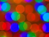 рождественские огни из абстрактный фон фокус — Стоковое фото