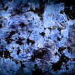 Black and Blue colored marble surface texture for background — Stock Photo