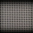 Weave Pattern Showing Repetition Useful as Background — Stock Photo