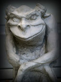 Gargoyle Statue — Stock Photo