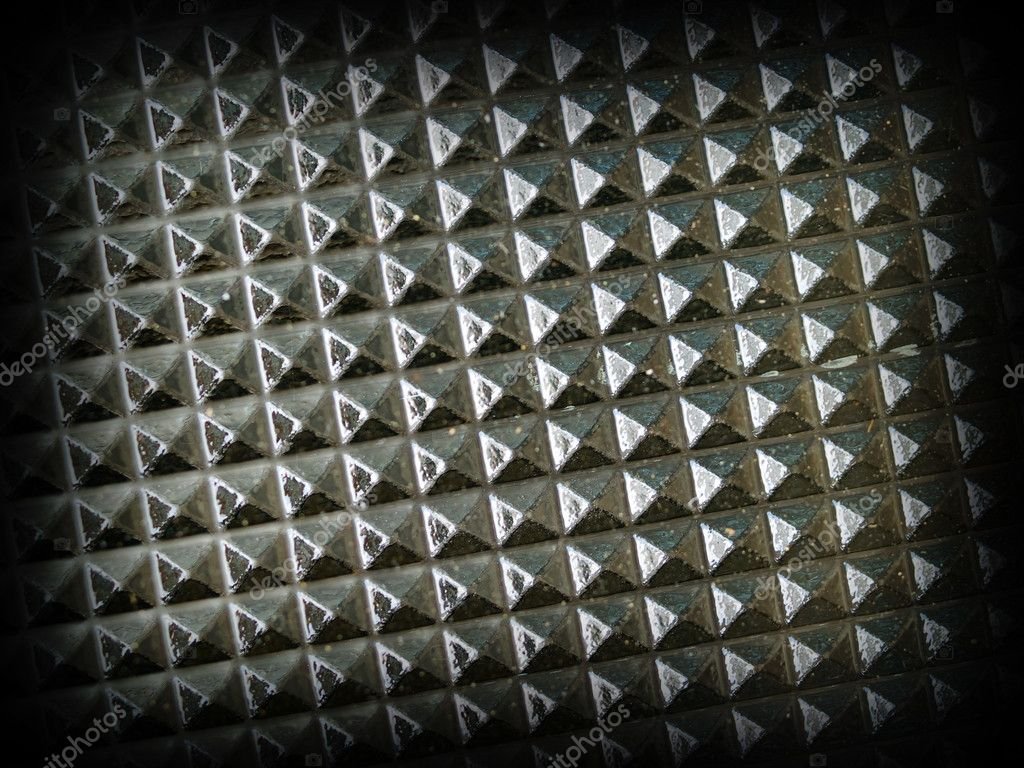 Glass Tabletop Closeup Macro Showing Repetitive Pattern with a Dark Border — Stock Photo #4953406