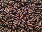 Coffee Beans Background — 图库照片