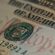 The US 10 Dollar Bill Showing We the — Stock Photo