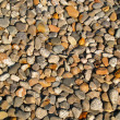 Background of Small Round Pebbles with Full Sunlight — Stock Photo