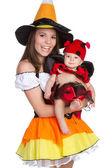 Halloween kostuums — Stockfoto