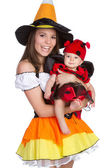 Kostiumy na halloween — Zdjęcie stockowe