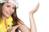 Hula Dancer — Stock Photo