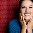 Laughing Woman — Stock Photo