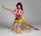 Hula Dancer — Stock Photo