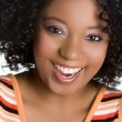 Smiling Black Woman — Stock Photo #4001806