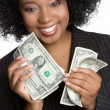 Money Woman - Stock Photo