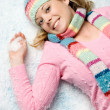 Snow Girl — Stock Photo #4026139