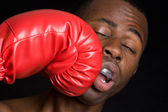 Boxing Man — Stock Photo