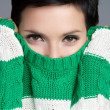 Sweater Woman — Stock Photo