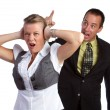 Couple Fighting — Stock Photo #4439668