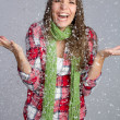 Snow Girl — Stockfoto