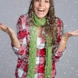 Stock Photo: Snow Girl
