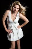 Fashion Model Woman — Fotografia Stock