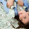 Money Woman — Stock Photo #4493568