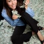 Money Woman — Stock Photo #4764950