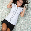 Money Woman — Stock Photo #5073039
