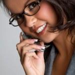 Phone Woman — Stock Photo #5142103