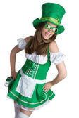 Irish Woman — Foto de Stock