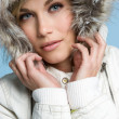 Stock Photo: Winter Coat Woman