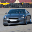 Stockfoto: Car on track