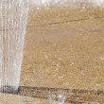 Ground water fountain — Stock Photo