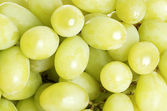 Green grapes — 图库照片