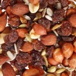 Pile of trail mix — Stock Photo