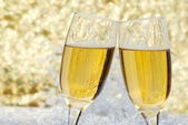 Champagne celebration — Stock Photo