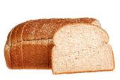 Fatias de pão moída pedra — Fotografia Stock