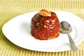 Toffee pudding — 图库照片