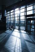 Image of mordern Railway Shipping Station — Stock Photo