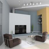 Interior moderno — Foto de Stock