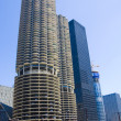 Stock Photo: Chicago condominiums