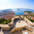 Stock Photo: View of Hvar